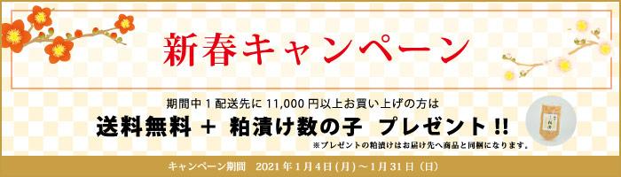 杵の川 送料キャンペーン